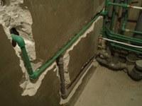 перенос труб на кухне Кстово